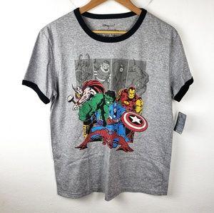 Disney Shirts - NWT Disney Store | Gray Avengers Marvel Tee Medium